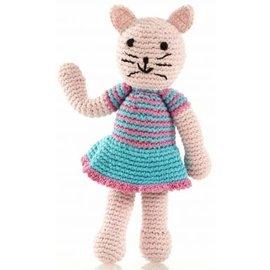 Pebble Pebble Rattle, Girl Cat