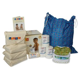 Bummis Organic Baby Cotton Diaper Kit