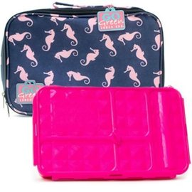 Go Green Seahorse Leakproof Lunchbox Set