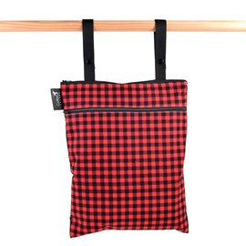 Colibri Plaid Double Duty Wet Bag