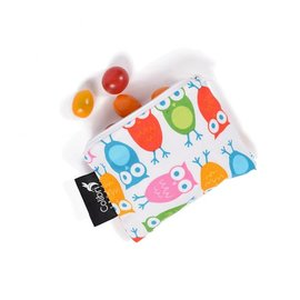Colibri Pink Owls Small Snack Bag