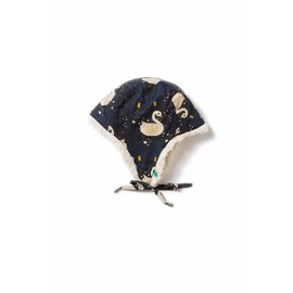 Little Green Radicals Night Swimming Organic Sherpa Hat