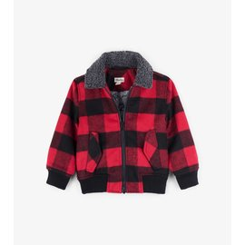 Hatley Buffalo Plaid Bomber Jacket