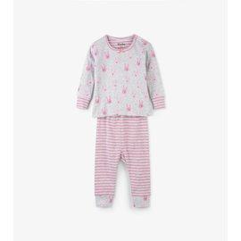 Hatley Funny Bunnies Organic Cotton Baby PJ Set