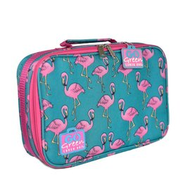 Go Green Flamingo Leakproof Lunchbox Set