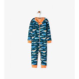 Hatley Whale Pod Mini Coverall