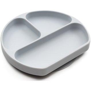Grey Silicone Grip Dish