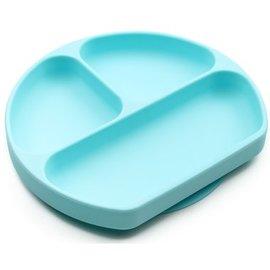 Aqua Silicone Grip Dish