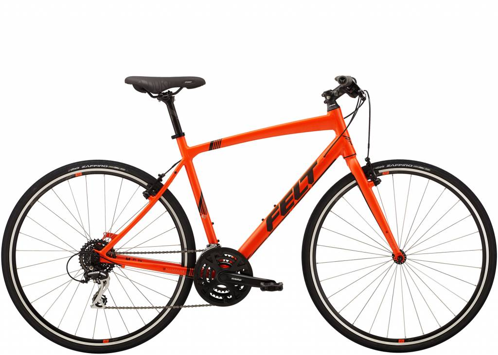 Felt Felt Bicycles Mens Verza Speed 40 Matte Matte Fluorescent Orange