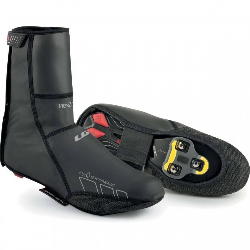 Louis Garneau Louis Garneau H2O Extreme Cycling Shoe Covers Black