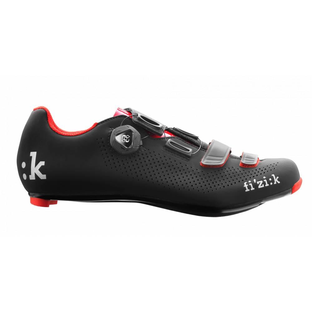 Fizik Fizik Shoes - Men's - Road - R4B Uomo - BOA Carbon - Black/Red - Size 45.5