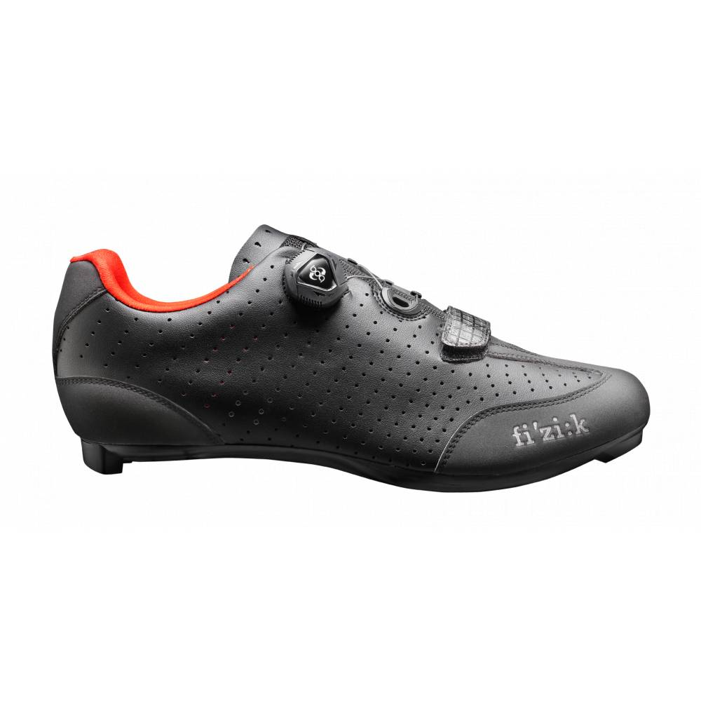 Fizik Shoes - Men's - Road - R3B Uomo - BOA Carbon - Black/Red - Size 43