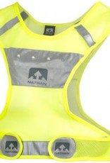 Nathan Nathan Reflective LightStreak LED Vest: LG/XL, Neon Yellow