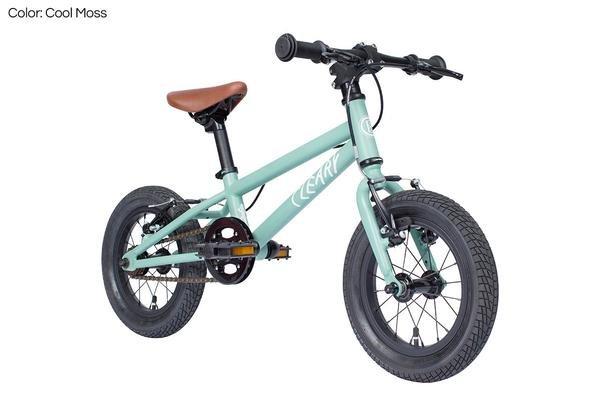"Cleary Bikes Cleary Bikes Gecko 12"" Single Speed (Freewheel) Cool Moss"