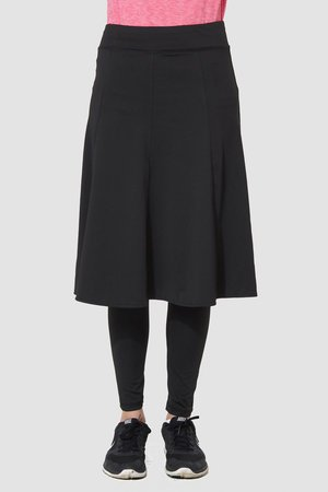 Snoga Athletics Snoga Athletics Long Twirly Skirt with Leggings