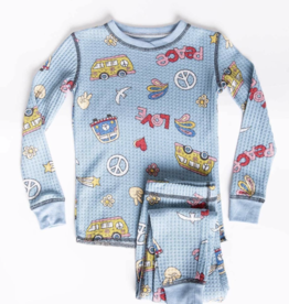 KIDS SKI JAMMIE SET