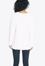 V-Neck Teddy Sweater
