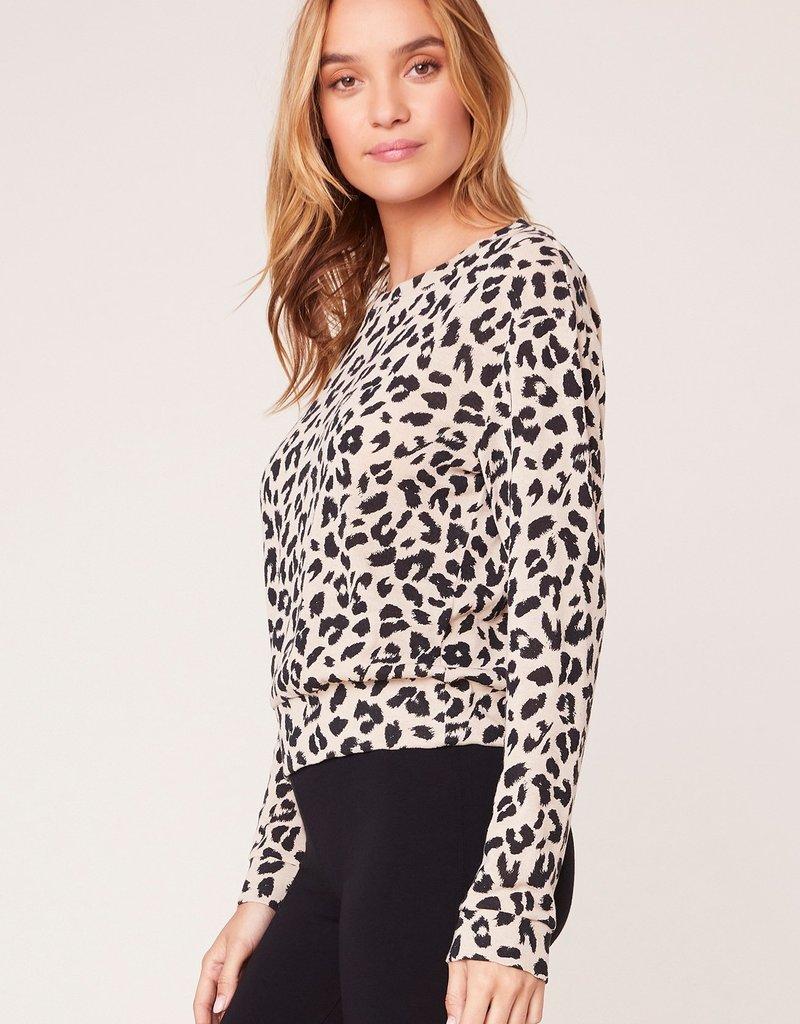 Cat Nap Leopard Sweater