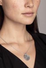 Ran Gold Coin  Necklace