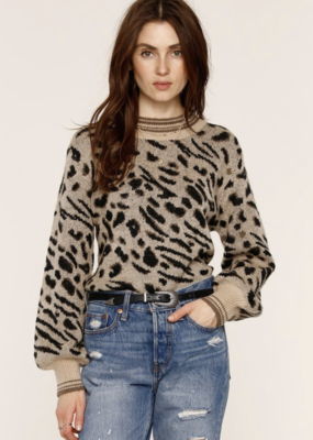 Mabel Leopard Sweater