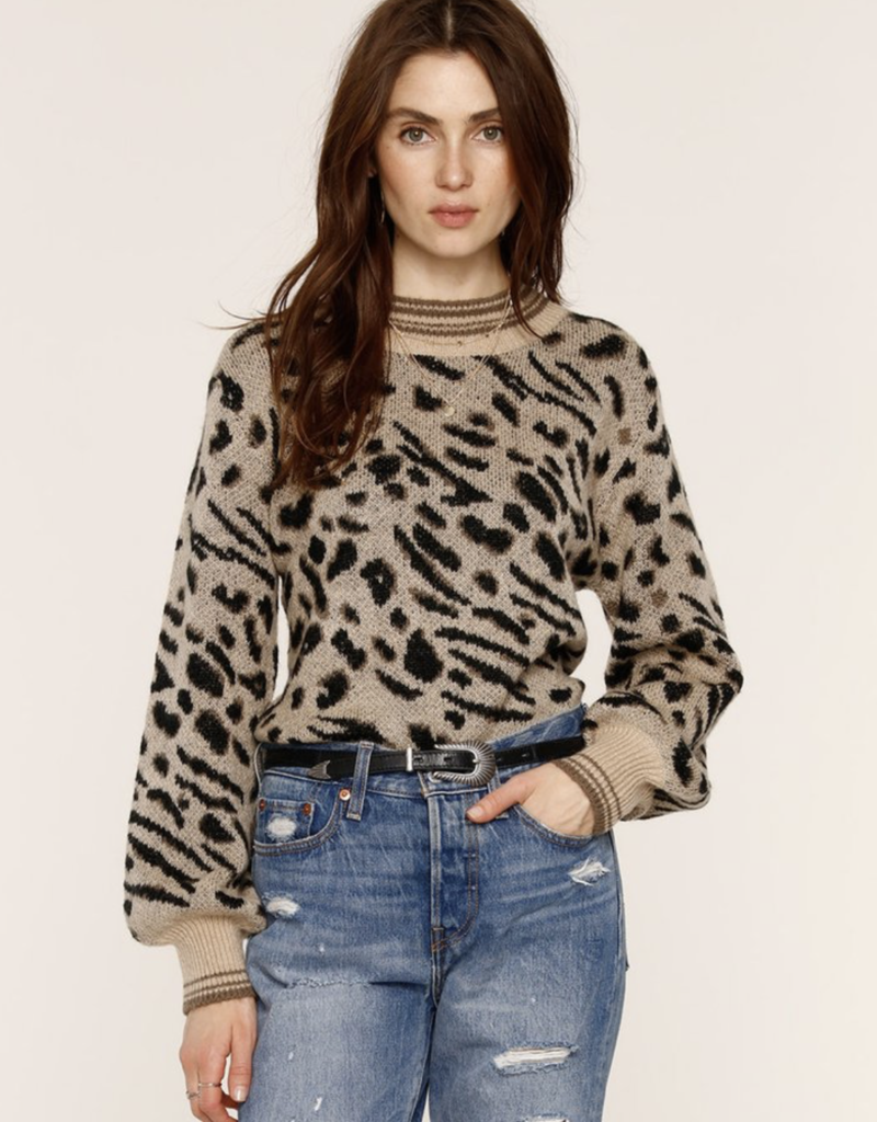 Mabel Leopard Sweater
