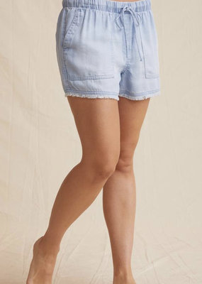 Frayed pocket short
