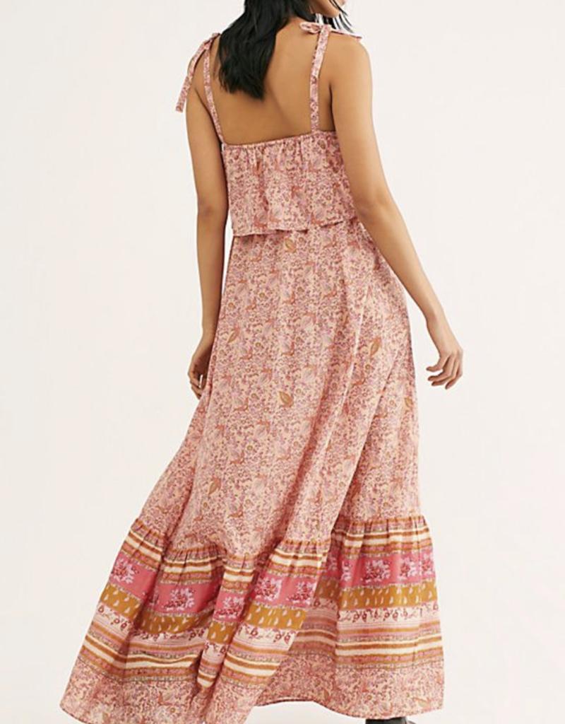Tangier Babydoll Midi Dress