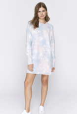 Olivia Dress in Cloud Tie Dye