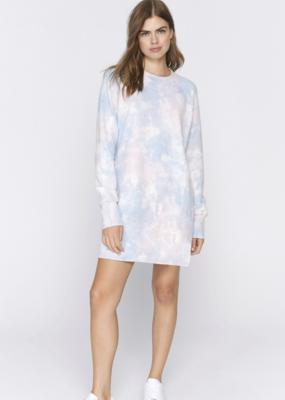 Olivia Dress in Cloud Tie Dye