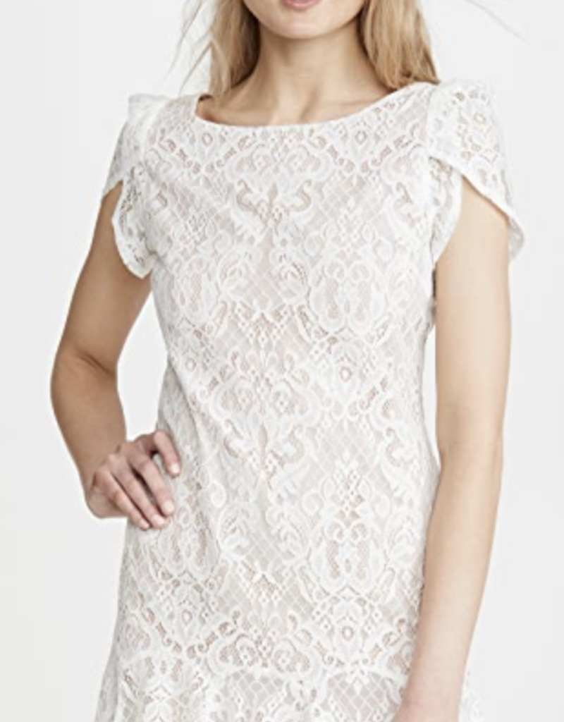 Just in Lace Midi Dress