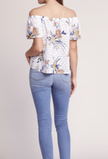 SUN'S OUT EYELET TOP