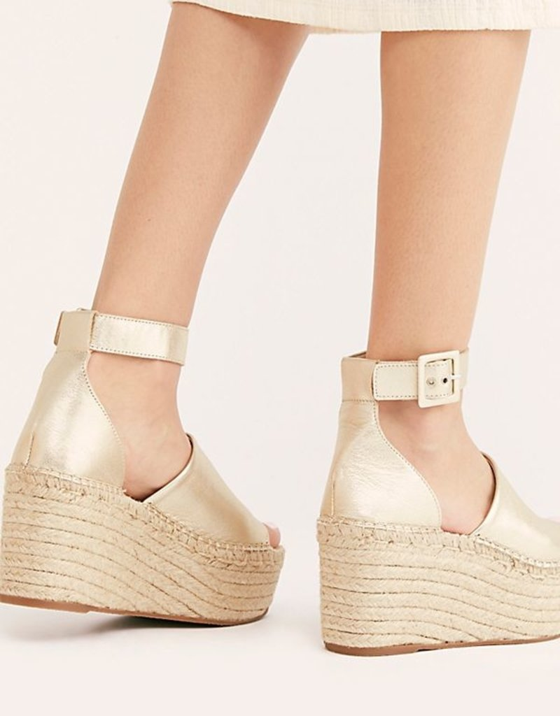 FP Coastal Platform Wedge - Gold