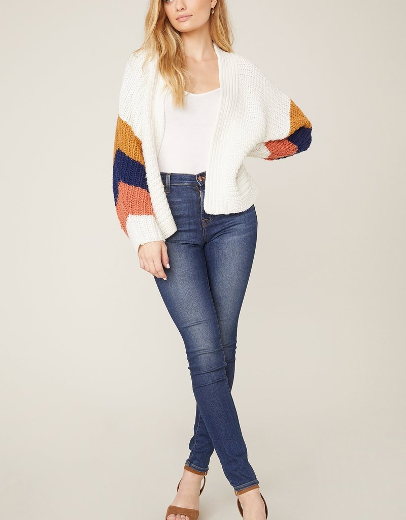 Block and Roll Cardi