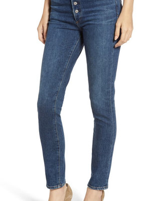 COH Olivia High Waist Slim Jeans In Circa