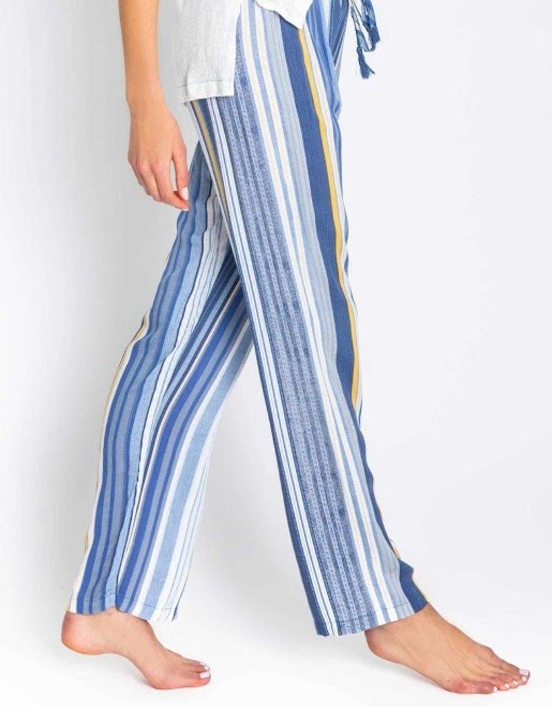 Beach Blue Stripe Pant