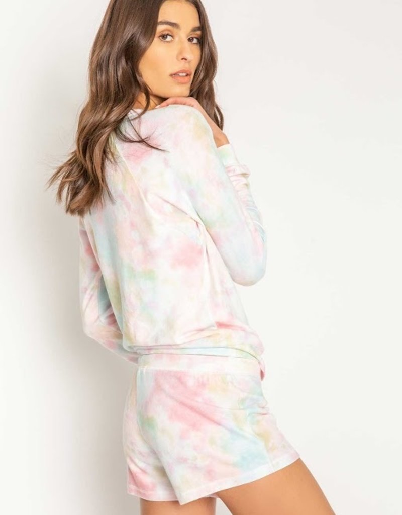 Rainbow Lounge Tie Dye Pullover