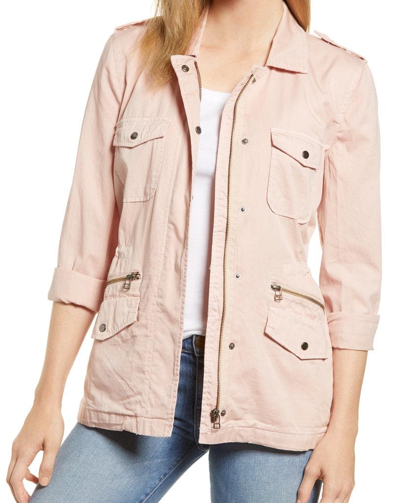 Lily Aldridge Twill Jacket