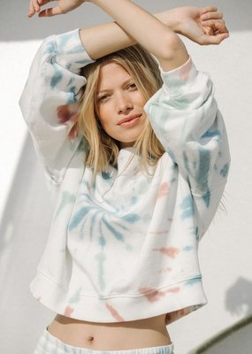 Multi Color Tie Dye Pullover