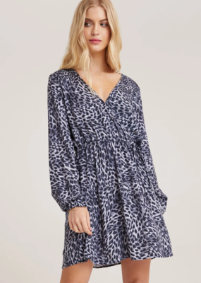 Smocked Wrap Dress