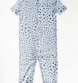 Peachy Party Leopard Onesie
