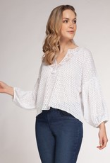 Lace and textured Blouse