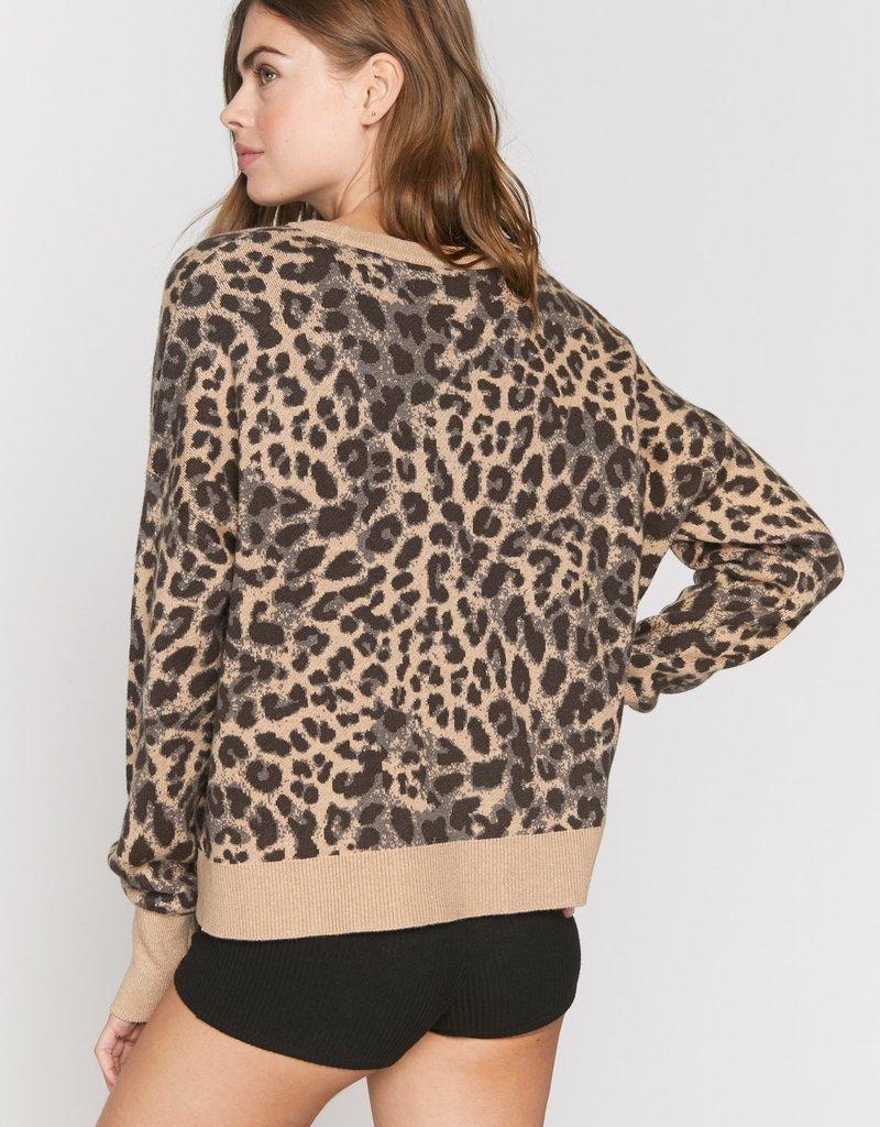 SG Cheetah Glow Up Sweater