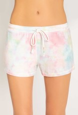 Rainbow Lounge Tie Dye Shorts