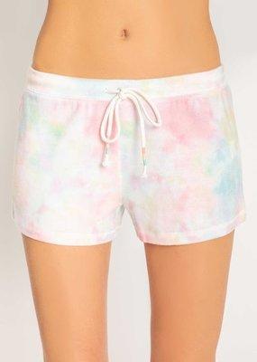 Rainbow Lounge Tie Dye Shorts