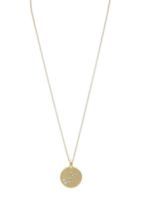 Star Sign Necklace-Gold