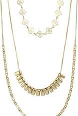 Joy 3-Layer Necklace-Gold