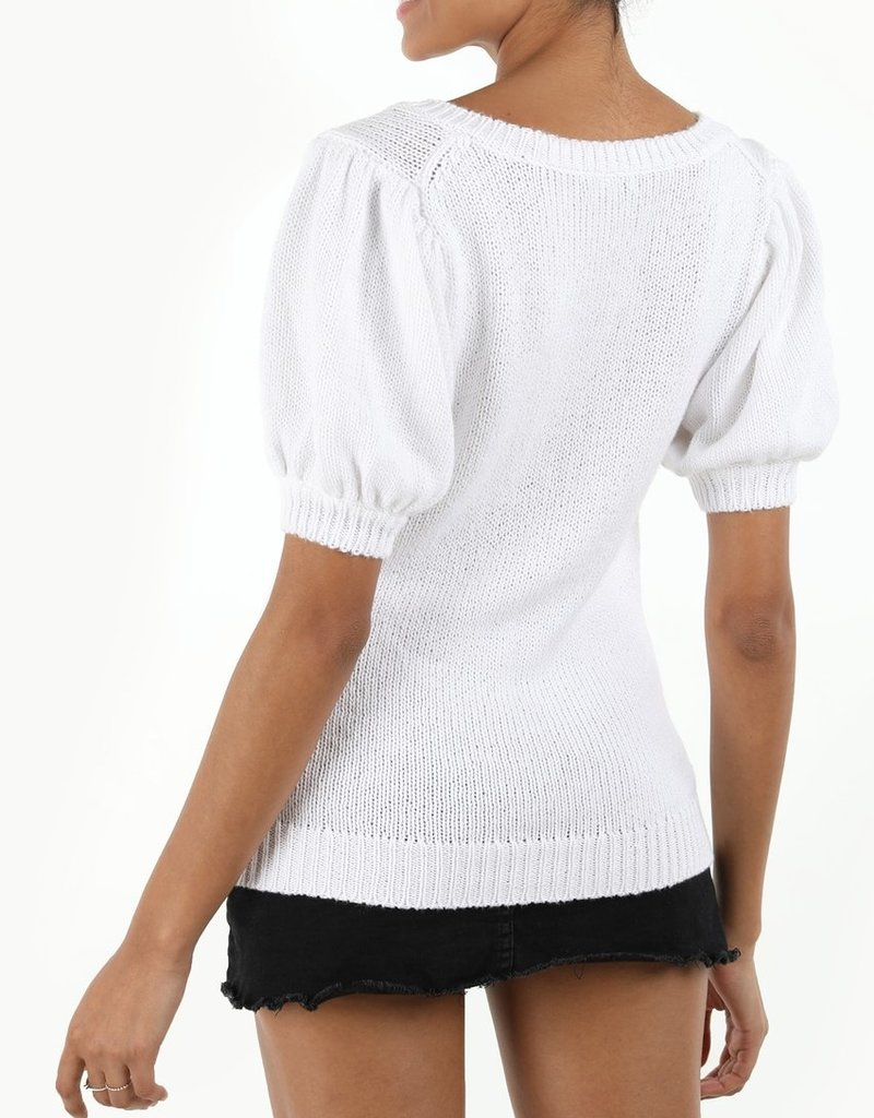 Cotton Shaker Puff Sleeve