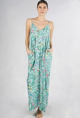 Cocoon Maxi Embroidered