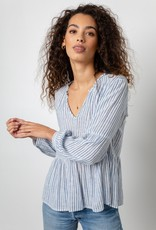 Raylyn Striped Blouse