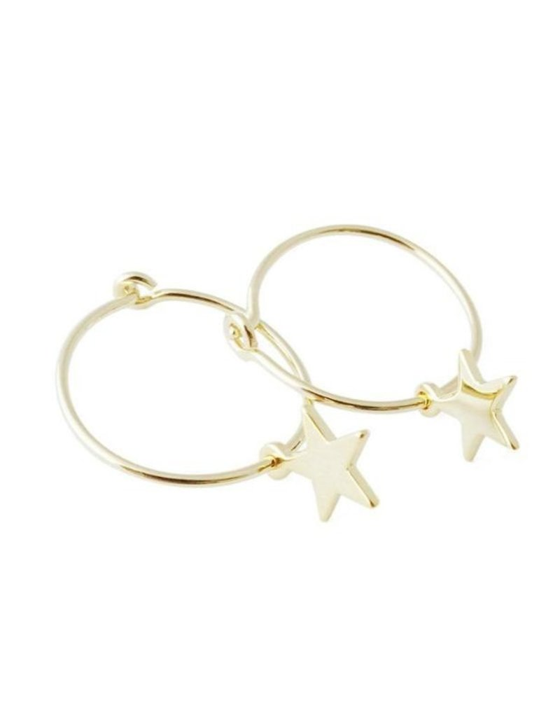 Choosey Star Hoops